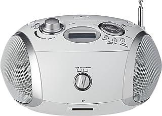 Sponsored Ad – Roberts Radio Zoombox3 DAB/DAB+/FM/SD/USB Radio with CD Player, White