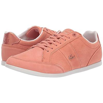 Lacoste Seforra 118 1 U (Pink/Off-White) Women