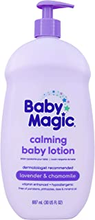 Baby Magic Calming Baby Lotion, Lavender & Chamomile, 30 Oz
