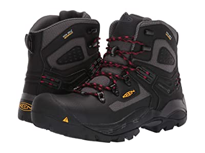 Keen Utility St. Paul 6 Carbon-Fiber Toe WP (Magnet/Black) Men