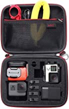 Middle Protective Carrying Case for GoPro Hero(2018) Hero 7 Black, Hero 6,5, 4, LCD, Black, 3+, 3, 2 and Accessories, Compact and Safe Action Camera Travel Storage Solution for Adventurers