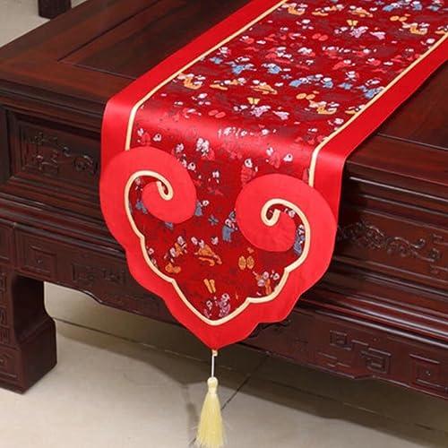 KKY-ENTER rojo Table Runner Modern Classical Tablecloth Tablecloth Tablecloth (sólo vendiendo el corrojoor de la tabla) los 35  180cm