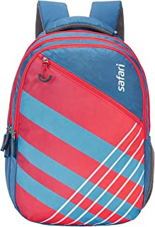 Safari 38 Ltrs Blue Casual Backpack (SWOOSH19CBBLU)