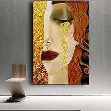 Gustav Klimt GOUDEN TRANEN Canvas Schilderij Gedrukt Retro Beroemde Poster Modern Home Decoratie Wall Art Foto Voor Kamer ...