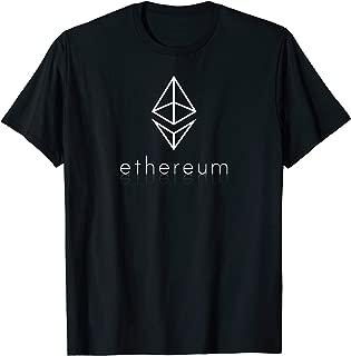 Elegant Ethereum Cryptocoin Logo ETH Cryptocurrency T-Shirt
