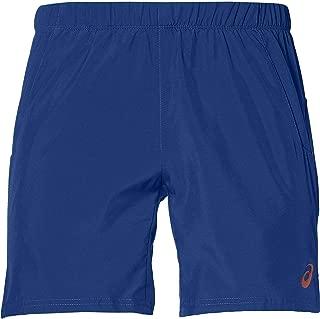ASICS Pantalon Corto Club 7 Azul: Amazon.es: Deportes y aire ...