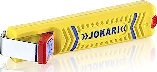 چاقوی سلب کابل Jokari 10160 Secura برای کلیه کابل های گرد استاندارد ، شماره 16 ، 13.2cm L x 2.9cm W x 3.5cm H