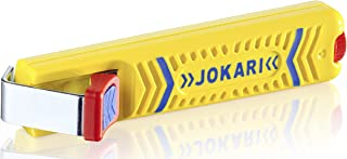 Jokari 10160 Secura Cable Stripping Knife for All Standard Round Cables, No. 16, 13.2cm L x 2.9cm W x 3.5cm H