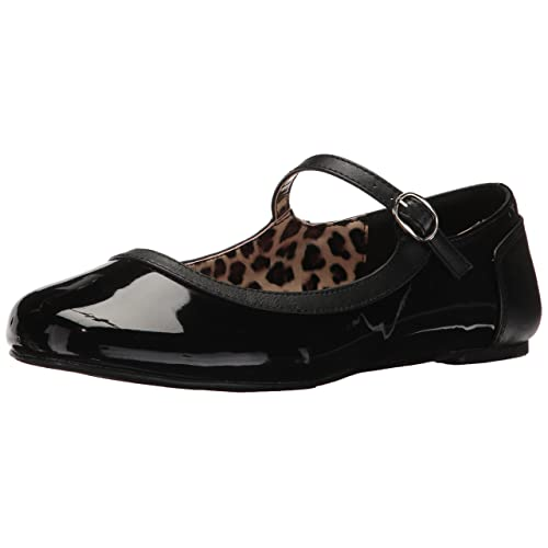 876463f0b11083 Women's Black Patent Flats Size 12: Amazon.com