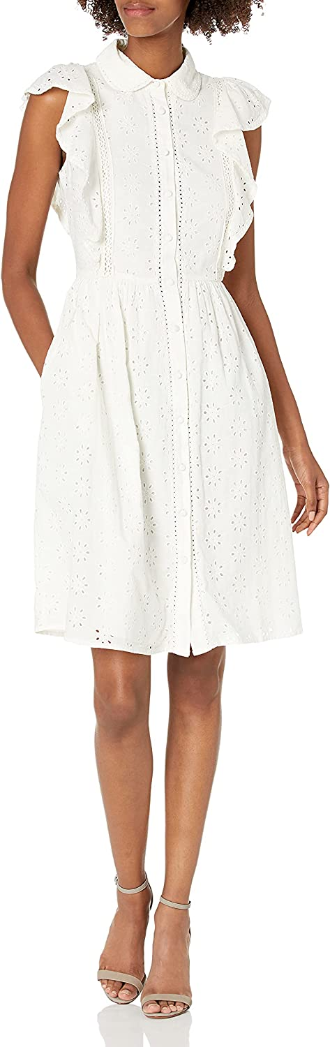 French Connection Women's Duna Lawn Embroidery
