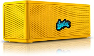 C&W West Coast Customs Portable Wireless Bluetooth Speaker. Bulit in Speakerphone and 8 Hour Battery- Yellow