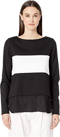 Ponte Boat Neck Sweater