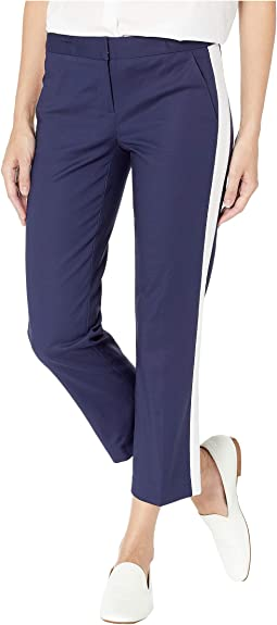 Track Cropped Cigarette Pants