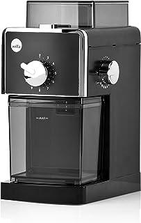 Wilfa IL SOLITO kaffekvarn - bönbehållare med en kapacitet på 180gr, utrustad med en automatisk stopp-funktion, svart