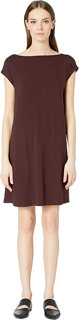 Viscose Jersey Back Twist Dress