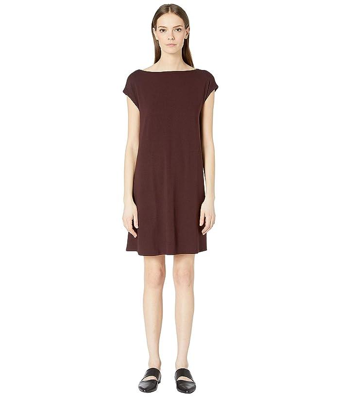61746b13695c Eileen Fisher Viscose Jersey Back Twist Dress | Zappos.com