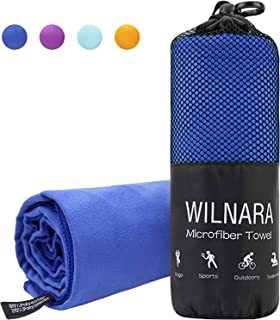 WILNARA Microfiber Swimming Towel -Extra Large Quick...