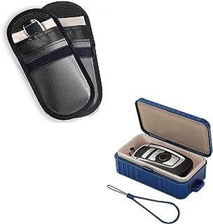 MONOJOY Faraday Bag for Car Key Fob Protector, Anti-Theft Car Key Pouch,