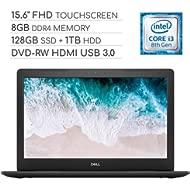 Dell Inspiron 15 5000 Laptop Computer 2019, 15.6 inch FHD Touchscreen Notebook, Intel Core...