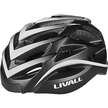 LIVALL BH62 白(WHITE) 自転車 ヘルメット LEDライト 方向指示器 3軸センサー 安全アラート ブルートゥース 音楽視聴 電話機能 トランシーバー GPSナビゲーション 白 55cm-61cm