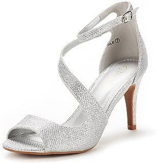 Women's Nile Fashion Stilettos Open Toe Pump Heel Sandals