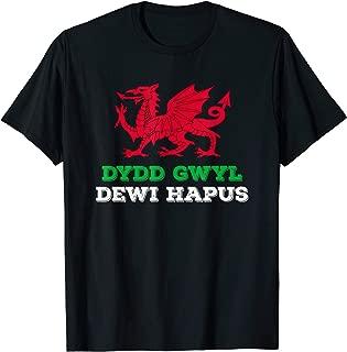 Dragon of Wales Flag Welsh Cymru Flags Medieval Welsh Rugby T-Shirt