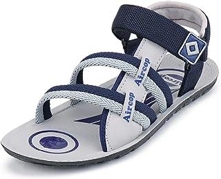 Earton Men's Grey Sandals-9 UK/India (43 EU) (ORIFWSH(B)-857)