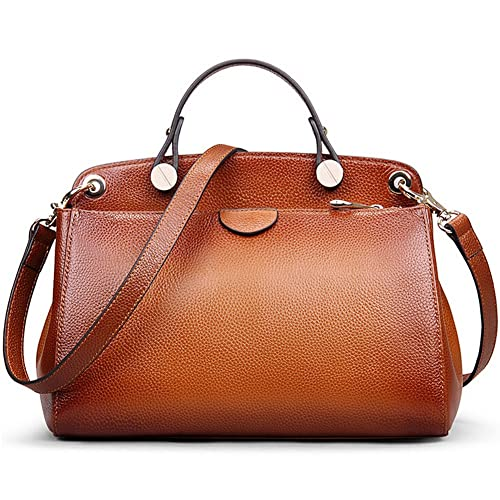 f9937d5885 AB Earth Genuine Leather Designer Handbag for Women Clearance Doctor Style  Top-handle Tote Cross