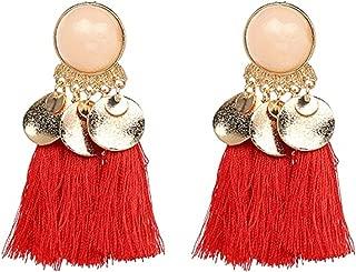 Tassel Drop Earring Jewelry Elegant Tassal Earrings Women Fringing Fringe Earrings