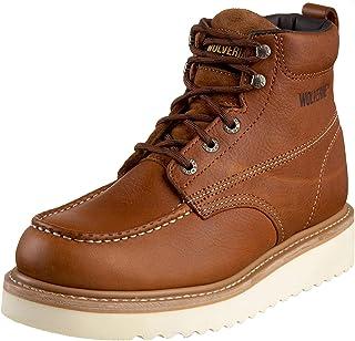WOLVERINE Work Wedge Homme Boots Marron