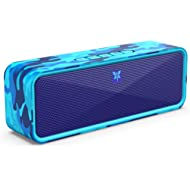 AXLOIE Portable Bluetooth Speaker, Camouflage Bluetooth 5.0 Wireless Speaker with Deep Bass and...