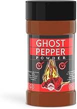 Ghost Pepper Powder- 3.5 Oz, Smoked, Hottest & Spicy chilli powder (SMOKED BHUT JOLOKIA POWDER) Organically Grown - 3.5 Oz