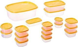 Princeware Sf Packg. Container Set Of 18 Pieces - Orange