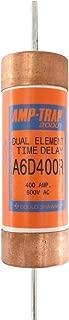 Ferraz Shawmut A6D400R AmpTrap Time-Delay Fuse, Class RK1, 600-Volt, 400-Amp