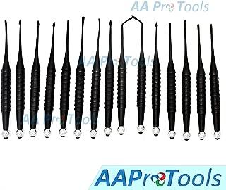 AAProTools Proximator PDL Elevator Set of 15 Pieces Dental Instruments DN-2149