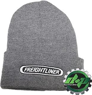Diesel Power Plus Freightliner Beanie Trucks Gray Stocking Cap hat Trucker semi Toboggan ski cat Snow Winter