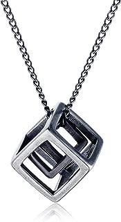 Best necklace square pendant Reviews
