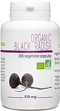 Black Radish Organic 200 Vegetarian Capsules - 270 mg