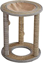 Mumoo Bear Cat Tree Cat Scratching Posts, Cat Interactive Toys - Cat Scratch Post Cat Tree Condo with 3 Large Scratching P...
