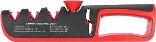Aiguiseur de couteaux Ciseaux durables Aiguiseur Outil d'affûtage de haute qualité 4 en 1 Aiguiseur de couteaux manuel Fac...