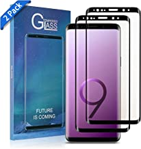 Galaxy S9 Screen Protector Tempered Glass,[Anti-Fingerprint][No-Bubble][Scratch-Resistant] Glass Screen Protector for Samsung Galaxy S9