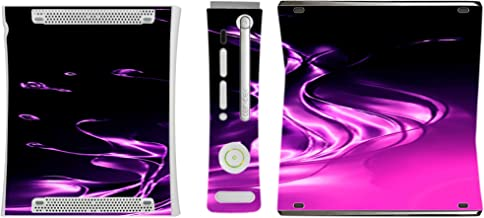 Purple and Pink Splash Vinyl Decal Sticker Skin by Moonlight4225 for Xbox 360