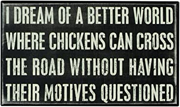 Best chicken cross the road motives questioned Reviews