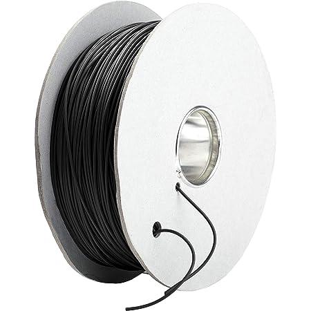 Cable delimitador GARDENA (50 m), Cable perimetral para robots cortacésped Gardena, impermeable, apto para exteriores, cable piloto para todos los robots cortacésped Gardena, gris negruzco (4058-60)