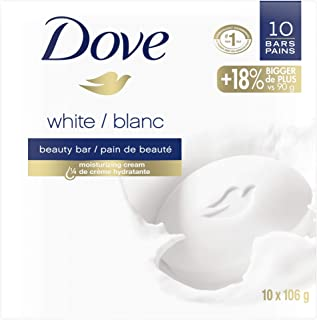 Dove Beauty Bar for healthy-looking skin White 106 g 10 count