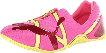 PUMA Women's Anaida Lace Metallic Slip-On Dance Sneaker