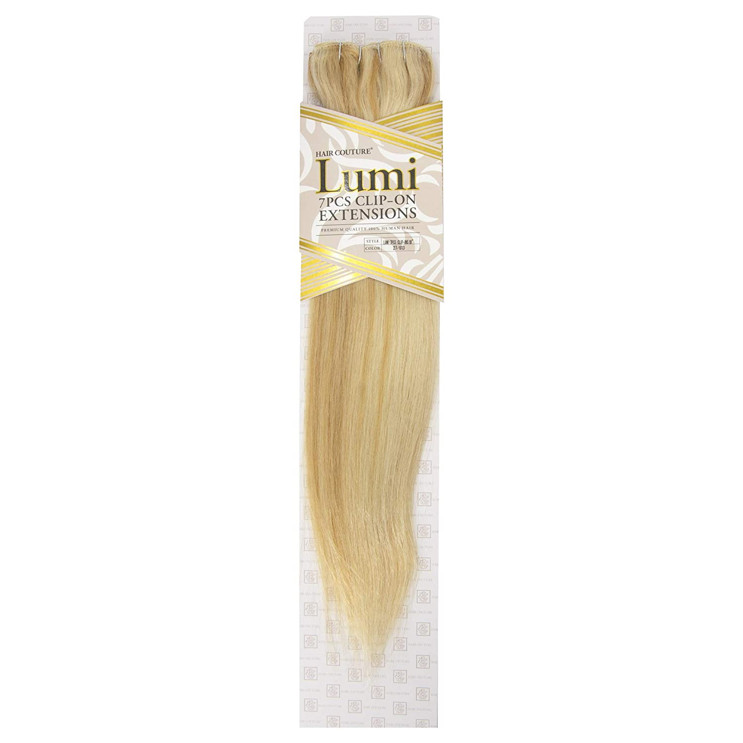 HAIR COUTURE Clip-In Extensions Lumi 7 HE 2 18