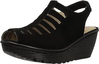 Women's Parallel-Trapezoid Wedge Sandal