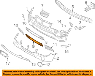 Genuine Front Bumper Central Grille Lower Grill BMW X3 E83 Facelift 2007-2010