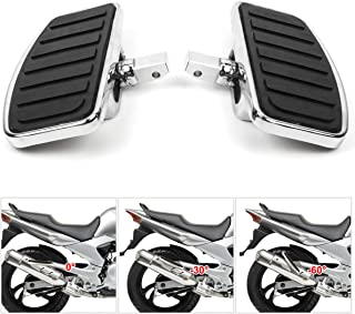 Motorcycle Floorboards with Adjustable Angle Function for Yamaha Vstar XVS 650 400